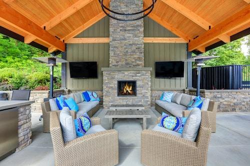 Custom Fireplace Outside Chesapeake VA