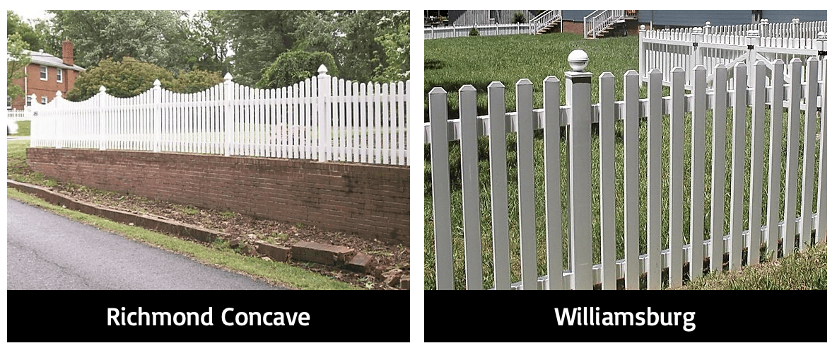 Vinyl Semi-private fence