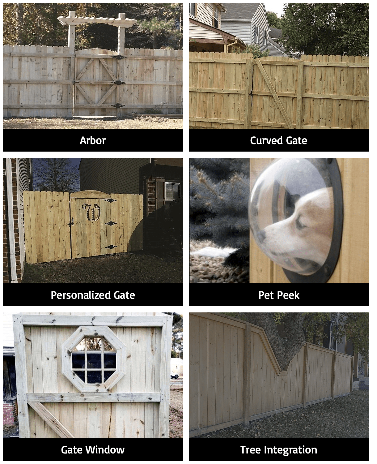 Wood Fence Upgrades