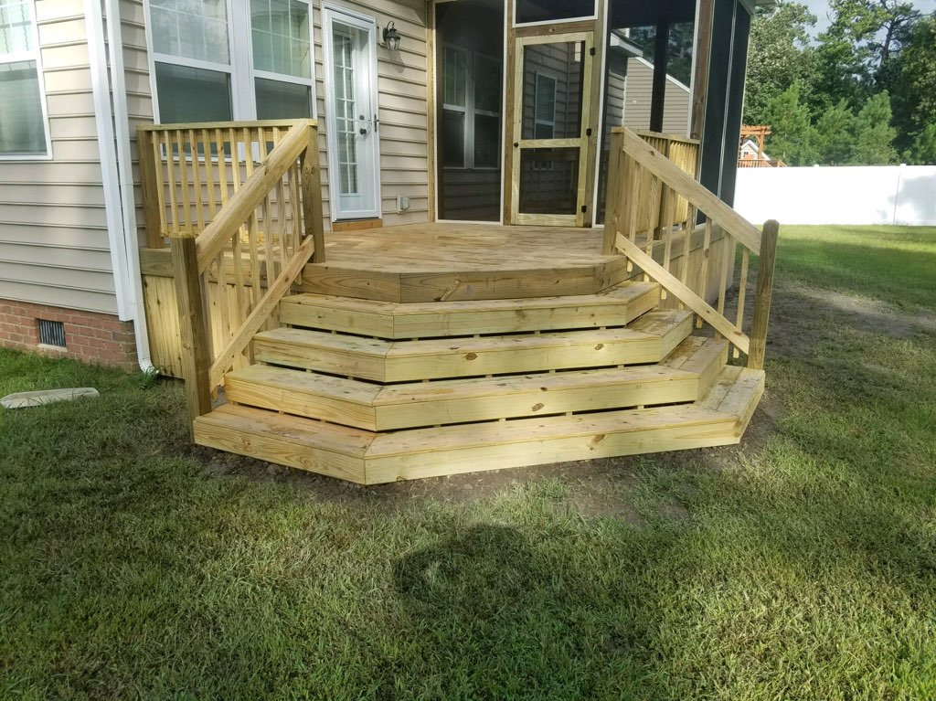 Wood Deck Replacement Design